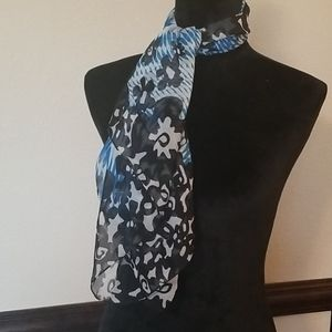 Claire's sheer square scarf